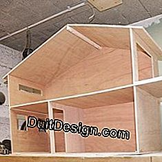 Build the house with plywood.