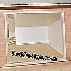 Emphasize window frames with thin cleats.