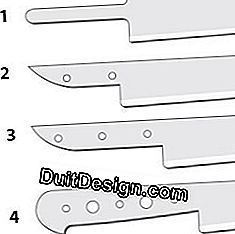 The different types of knife