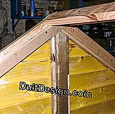 Build a small frame for the chicken coop