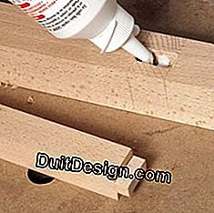 Assemble and glue tenon and mortise