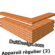 Brick masonry: which type of installation to choose?: installation