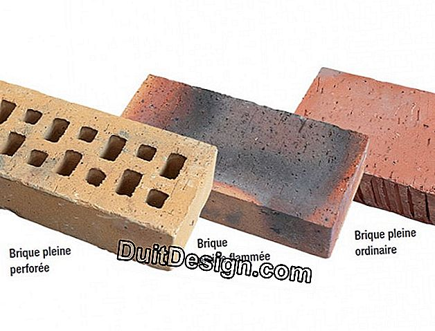 Brick masonry: which type of installation to choose?