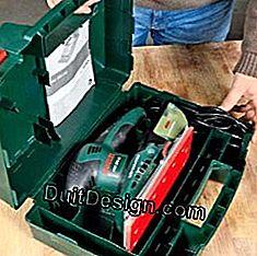 Store the sander in a briefcase.