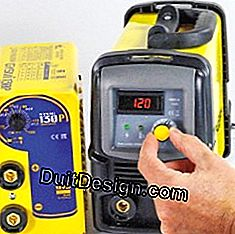 Notice and test on six MMA Inverter welding machines: welding