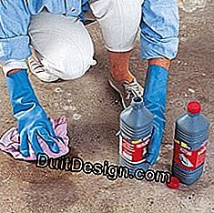clean a cement floor before painting