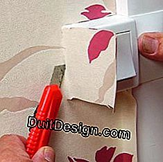 Motif wallpaper: how to pose successfully?: paper