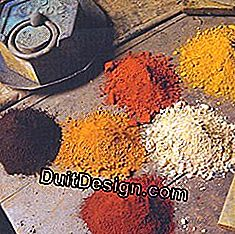 Coatings, whitewashes, glazes: pigment in colors: pigment