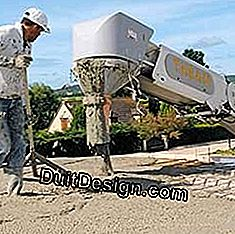 Delivery of ready-mixed concrete