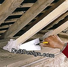 Reinforced insulation under double chevron: insulation