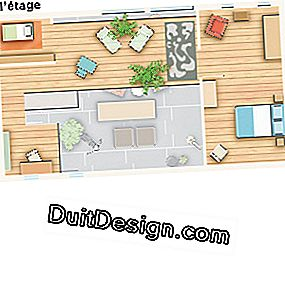 Plan of the house to renovate and develop