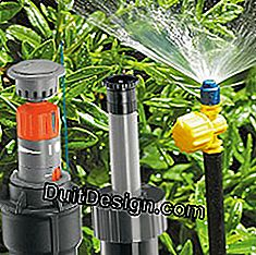 Six modular automatic watering systems: systems
