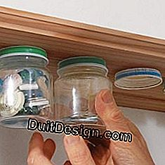 Ranger smart by recycling small jars of glass babies: small