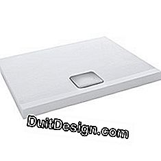 Odeon Up shower tray, Jacob Delafon