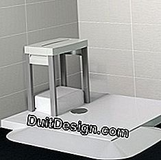 shower tray for elderly person