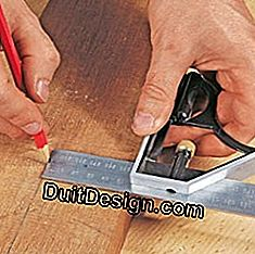 use a sliding square for carpentry measurements