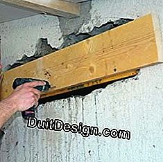 Open a passage in a load-bearing wall: wall