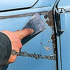 remove corrosion from a car