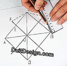 Tracing techniques: draw a regular octagon: draw