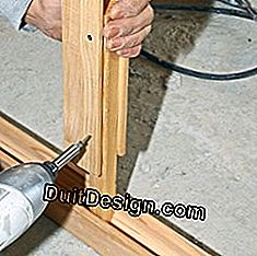 Mount drywall with pocket door: drywall