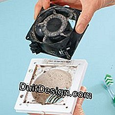 clean the engine block of the bathroom aerator