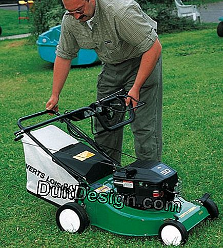 Wintering a thermal mower