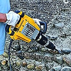 Work with a jackhammer: handle