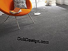 The appearance of the carpet.