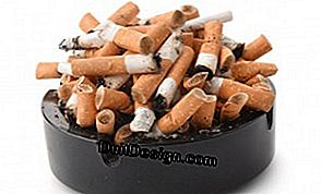 Get rid of the smell of cigarettes at home