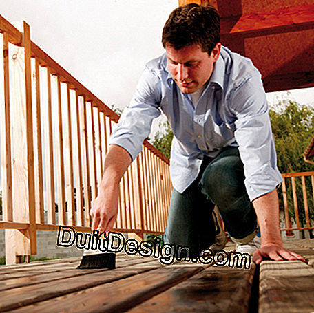 Treatment of deck boards