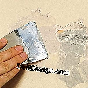 Repair a chipped coating before painting